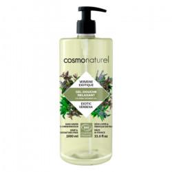 Gel douche Relaxant Verveine exotique 1 litre - Cosmo Naturel