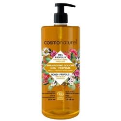 Shampooing douche Miel Propolis 1 litre - Cosmo Naturel