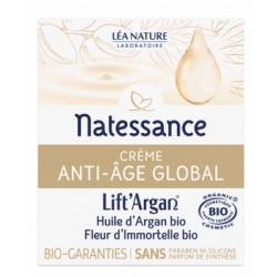 Crème anti âge global Lift'argan à l'Huile d'Argan et Immortelle 50ml