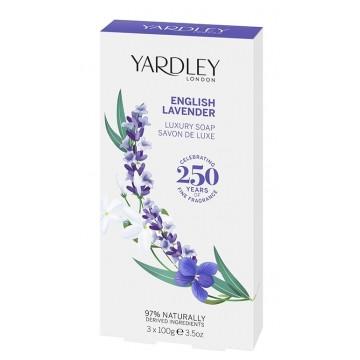 Coffret 3 savons English Lavender 3 x 100 gr - Yardley
