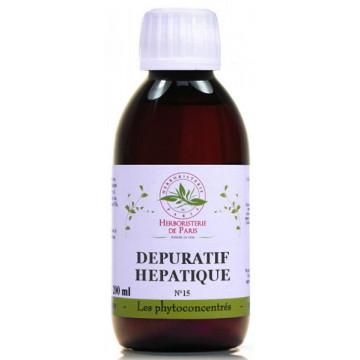 Phyto concentré Dépuratif Hépatique 200ml - Herboristerie de Paris