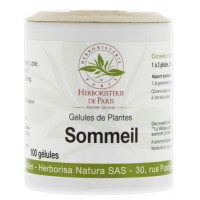 Sommeil Action5 Plantes 100 gélules Herboristerie de Paris rhodiola Lotier mélisse passiflore valériane AromaticProvence