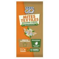 2 Recharges pour Piège à Mites textiles Mitbox - Aries action anti-mites Aromatic provence