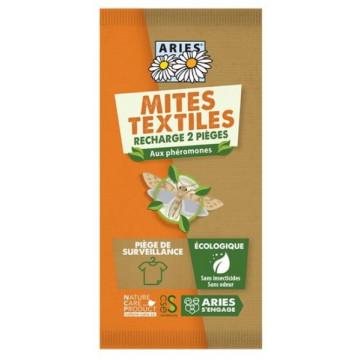 Recharges pour Piège à Mites textiles Mitbox x2 - Aries
