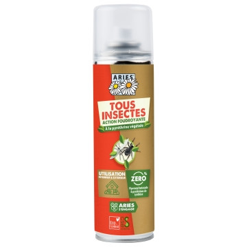 Spray Insecticide au Pyrèthre naturel 200 ml aries