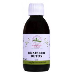 Phyto concentré Draineur Détox 200ml - Herboristerie de Paris