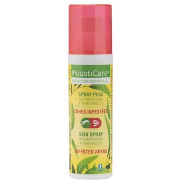 Spray peau zones infestées dès 6 mois 75ml - Mousticare