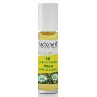 Stick répulsif à insectes Roll on été 6 heures 10ml - Ladrôme anti moustiques citronnelle Aromatic provence