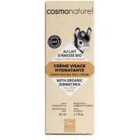 Crème de jour bio au lait d ânesse toutes peaux 50ml Cosmo Naturel Aromatic Provence