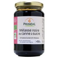 Melasse noire bio de canne à sucre 450 gr - Priméal matière bute de la canne à sucre aromatic provence
