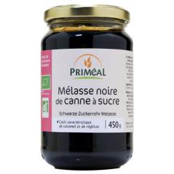 Melasse noire bio de canne à sucre 450 gr - Priméal