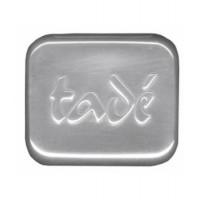 Boîte à savon aluminium brossé Aleppo Soap - Tadé