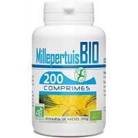 Millepertuis bio 400mg 200 comprimés - GPH Diffusion dépression légère et réversible Aromatic provence