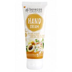 Crème mains Abricot et Fleur de sureau 75ml - Benecos