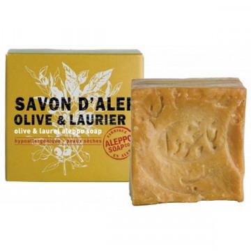 Savon d'Alep Olive et Laurier 100 g Aleppo Soap - Tadé