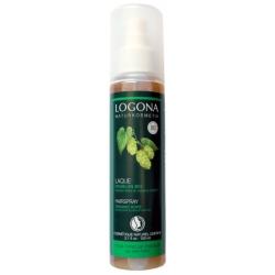 Laque fixation forte au houblon bio 150ml - Logona