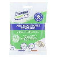 8 spirales Anti Moustique Ecocoil x8 - Etamine du Lys Aromatic provence