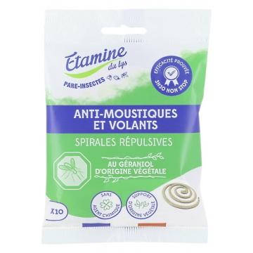 8 spirales Anti Moustique Ecocoil - Etamine du Lys