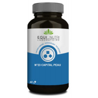 Capital Peau Complexe No 23 60 gélules végétales - Equi Nutri équilibre de la barrière cutanée Aromatic provence