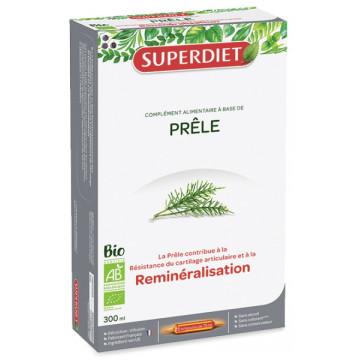 Prêle bio Articulations 20 ampoules de 15 ml  - Super Diet