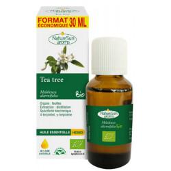 Huile essentielle de Tea Tree bio Flacon compte gouttes 30ml - Naturesun' Aroms