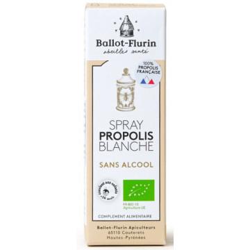 Spray propolis blanche sans alcool 15 ml - Ballot Flurin