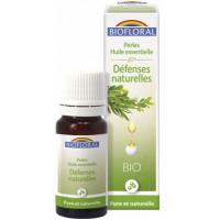 Perles d'huiles essentielles complexe Défenses naturelles 20ml - Biofloral fatigue passagère Aromatic provence