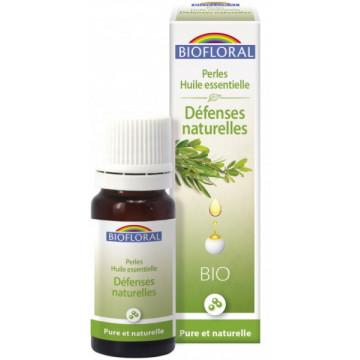 Perles d'huiles essentielles complexe Défenses naturelles 20ml - Biofloral