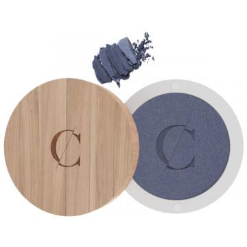 Ombre à paupières bio Bleu Jean Nacré No 046 - Couleur Caramel