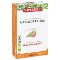 Aubier de Tilleul bio Super Diet, complément alimentaire Digestion Aromatic provence