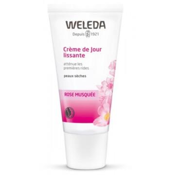 Crème de jour lissante à la Rose Musquée 30ml - Weleda