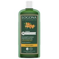 Shampooing réparateur Argousier Bio 250ml - Logona réparation des cheveux abîmés Aromatic provence