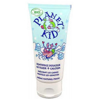 Dentifrice bio Enfant Fraise 50ml Planet Kid Dentifrice Douceur Fluor Calcium Fraise Dentifrices bio Aromatic provence