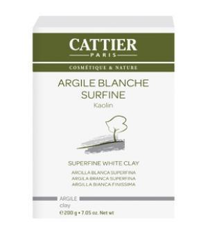 Argile Blanche surfine - Cattier,   Soins à l Argile,  Soins spécifiques bio Aromatic provence