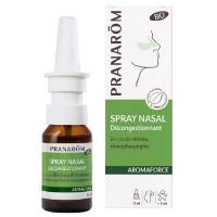 Spray nasal décongestionnant 15ml - Pranarôm antiseptique refroidissements hygiène nasale Aromatic provence