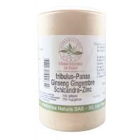 Libido Tribulus Panax Ginseng Gingembre Schisandra Zinc 100 Gélules - Herboristerie de paris Aromatic Provence