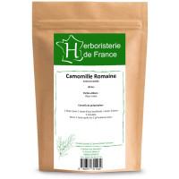 Tisane Camomille Romaine capitule floral trié entier 30gr Herboristerie de France infusion anti stress Aromatic provence