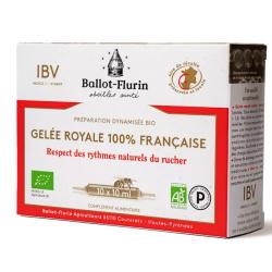 Préparation dynamisée Gelée Royale Française Bio - Ballot Flurin
