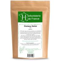Tisane Draineur detox 30gr Herboristerie de France plantes infusion Aromatic Provence