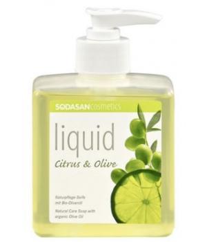 Savon liquide bio Citron-Olive - Sodasan