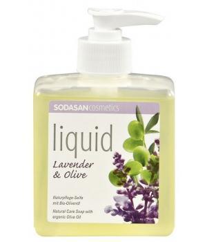 Savon liquide bio Lavande-Olive - Sodasan