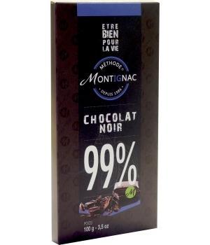 Chocolat Noir 99% de cacao - M. Montignac
