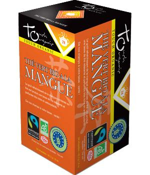 Thé vert bio à la Mangue - Touch Organic