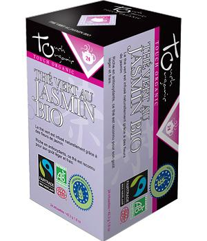 Thé vert bio au Jasmin - Touch Organic