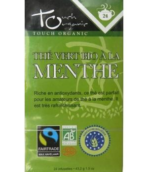 Thé vert bio à la Menthe - Touch Organic