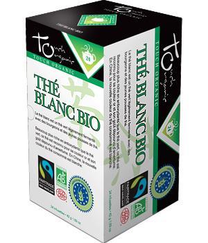 Thé Blanc bio -Touch Organic