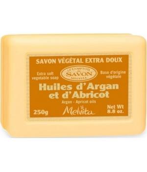 Savon végétal Huiles d'Argan et Abricot - Melvita