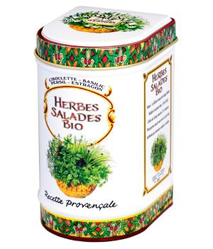 Mélange spécial Salade bio Grande Boîte - Provence d'Antan