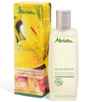 Eau de Toilette Cologne aux 8 essences bio - Melvita