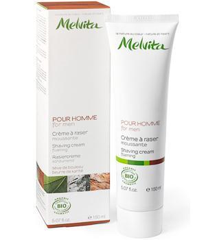 Crème à raser moussante - Melvita